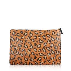 MCM Large Leopard Clutch