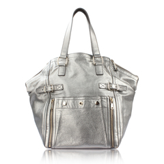Saint Laurent	 Yves Metallic Downtown Bag