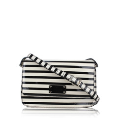 Kate Spade Fynn Wellesley Patent Stripe Crossbody Bag